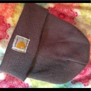Carhartt Grayish Pink Beanie Hat